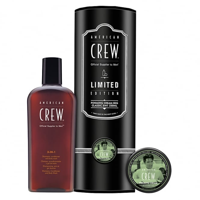 American Crew Forming Cream 85g & Classic 3 in 1 Duo Gift Pack