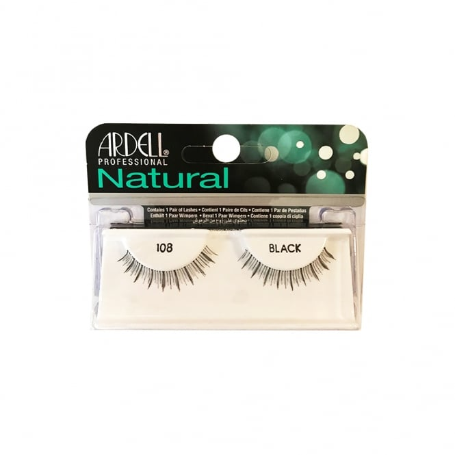 Ardell Professional Naturals Strip Lashes 108 Demi Black