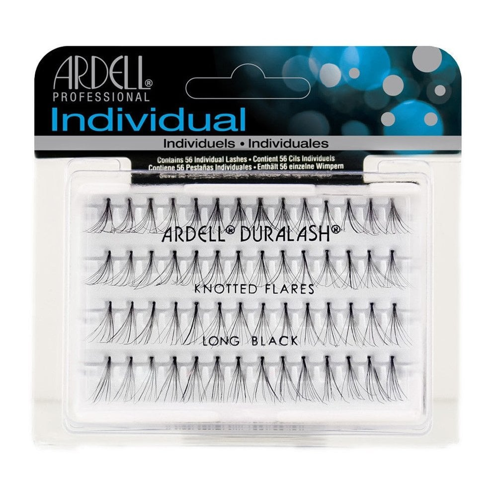 2861619b3d5 Ardell Professional Duralash Knotted Flares Individual Lashes Long Black