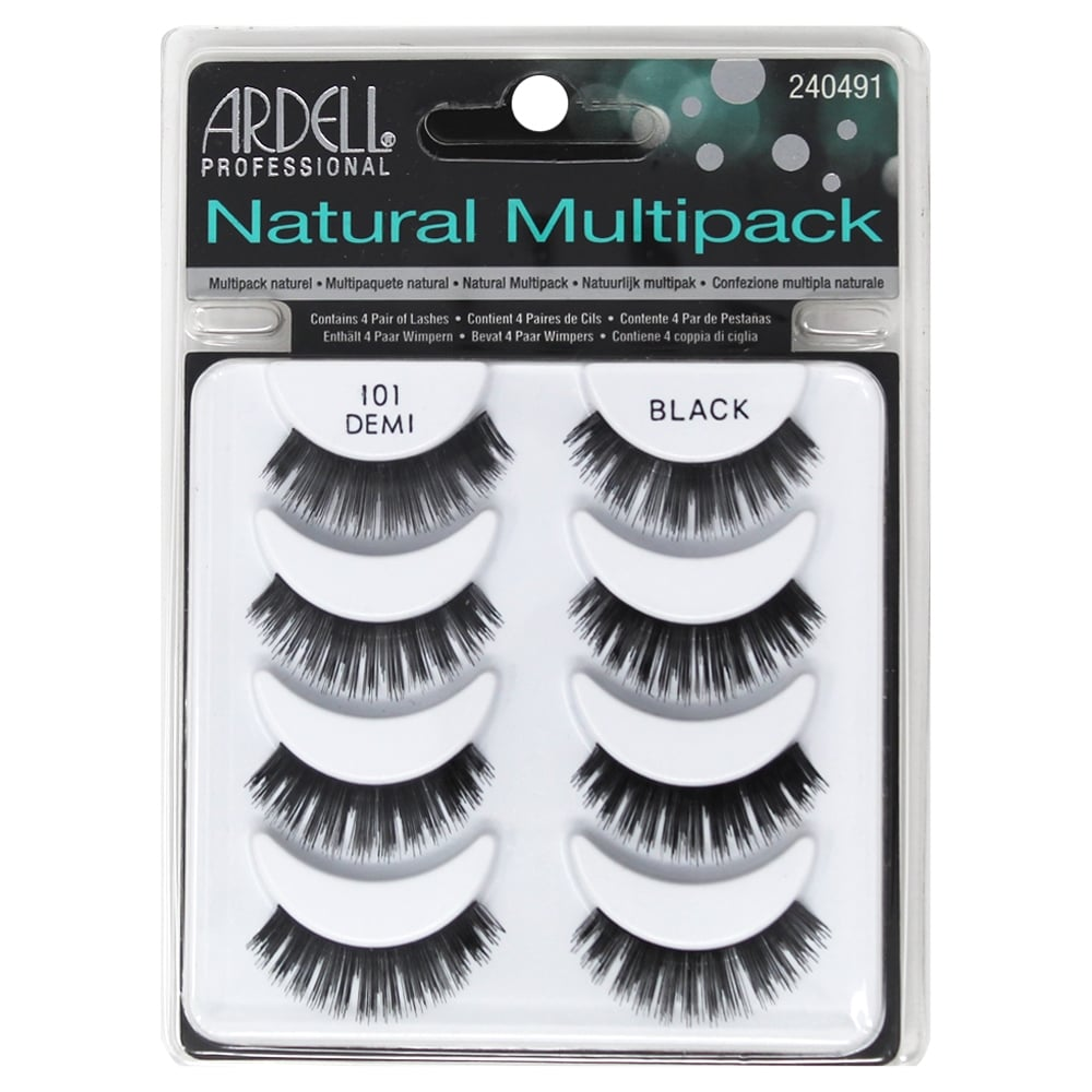 c118fce1216 Ardell Professional Multipack Naturals Strip Lashes 101 Black (4 Pairs)