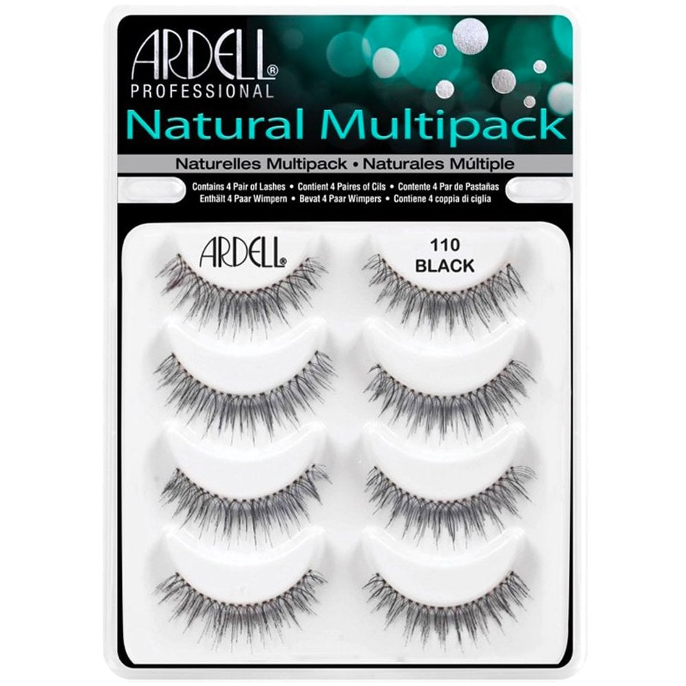1ec28855de8 Ardell Professional Multipack Naturals Strip Lashes 110 Black (4 Pairs)