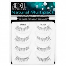Multipack Naturals Strip Lashes Babies Black (4 Pairs)