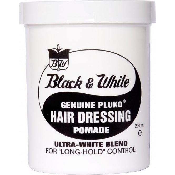 Black & White Puko Hairdressing Pomade 200ml