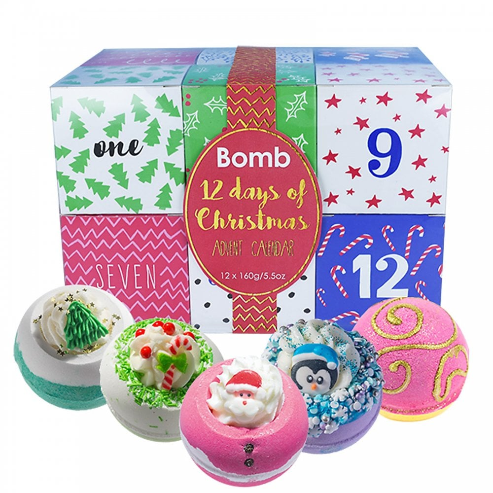 12 Days Of Christmas.Bomb Cosmetics 12 Days Of Christmas Advent Calendar