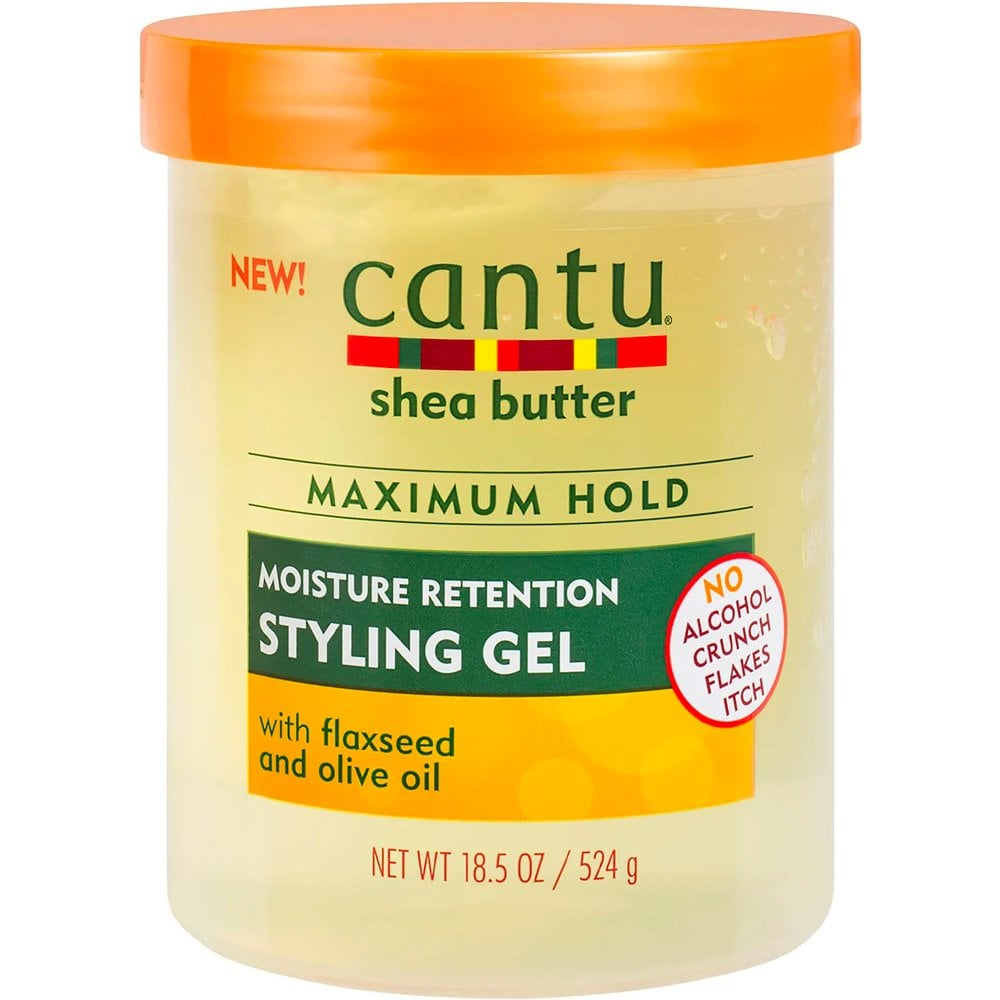 Cantu Shea Butter For Natural Hair Moisture Retention Styling Gel 524g Hair Free Delivery Justmylook