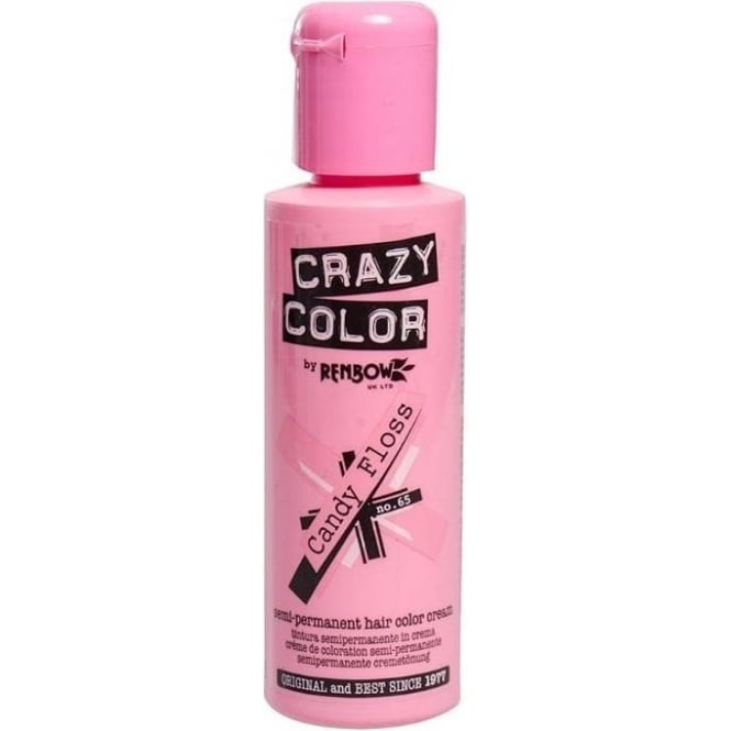 Crazy Colour Candy Floss Hair Dye 100ml