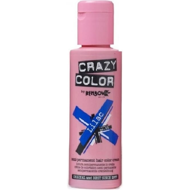 Crazy Colour Lilac Hair Dye 100ml