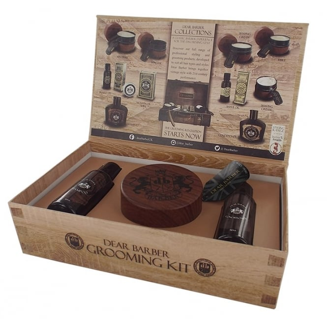 Dear Barber Mattifier Hair Care Collection Gift Set