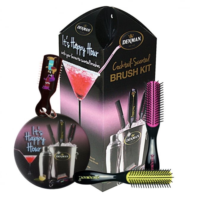 Denman Cocktail Mini Bar Brush Set
