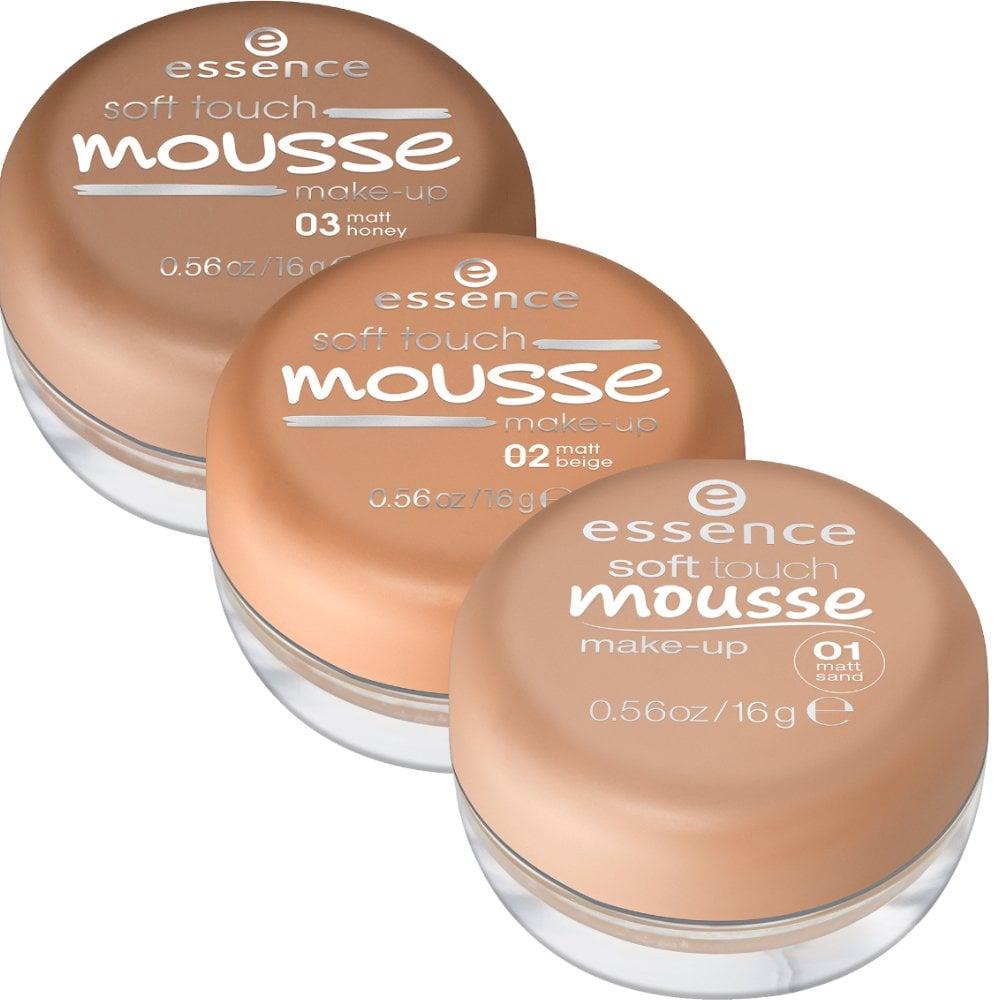 Essence Soft Touch Mousse Makeup