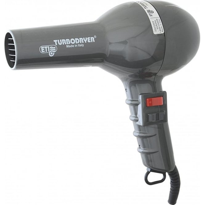 ETI Turbo Hair Dryer Gunmetal 1500w