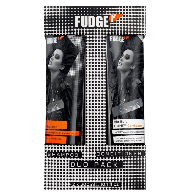 Fudge Big Bold OOMF Shampoo & Conditioner Duo 300ml