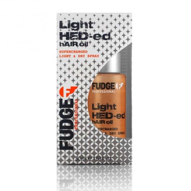 Fudge Light Hed-ed Hair Oil Supercharged Light & Dry Spray 50ml