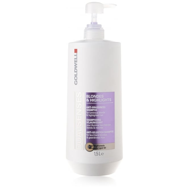 Goldwell DualSenses Blondes & Highlights Anti-Brassiness Shampoo 1500ml
