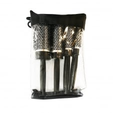 Heat Retaining Quad Brush Set