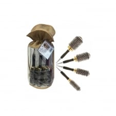 Gold Thermal Brush Set