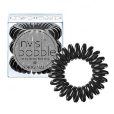 Original Traceless Hair Ring True Black x 3