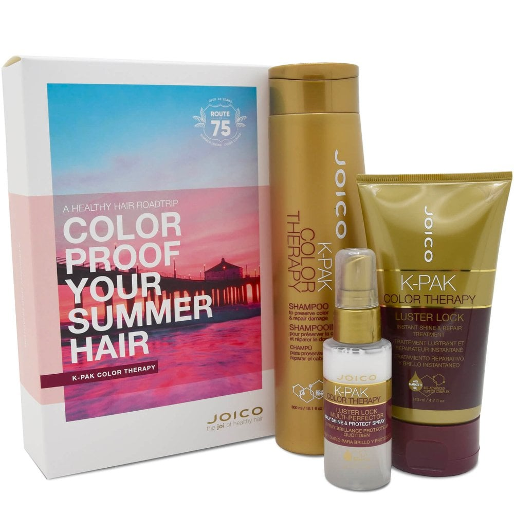 be9615fcdcd Joico K-Pak Colour Therapy Summer Hair Set - Hair - Free Delivery ...