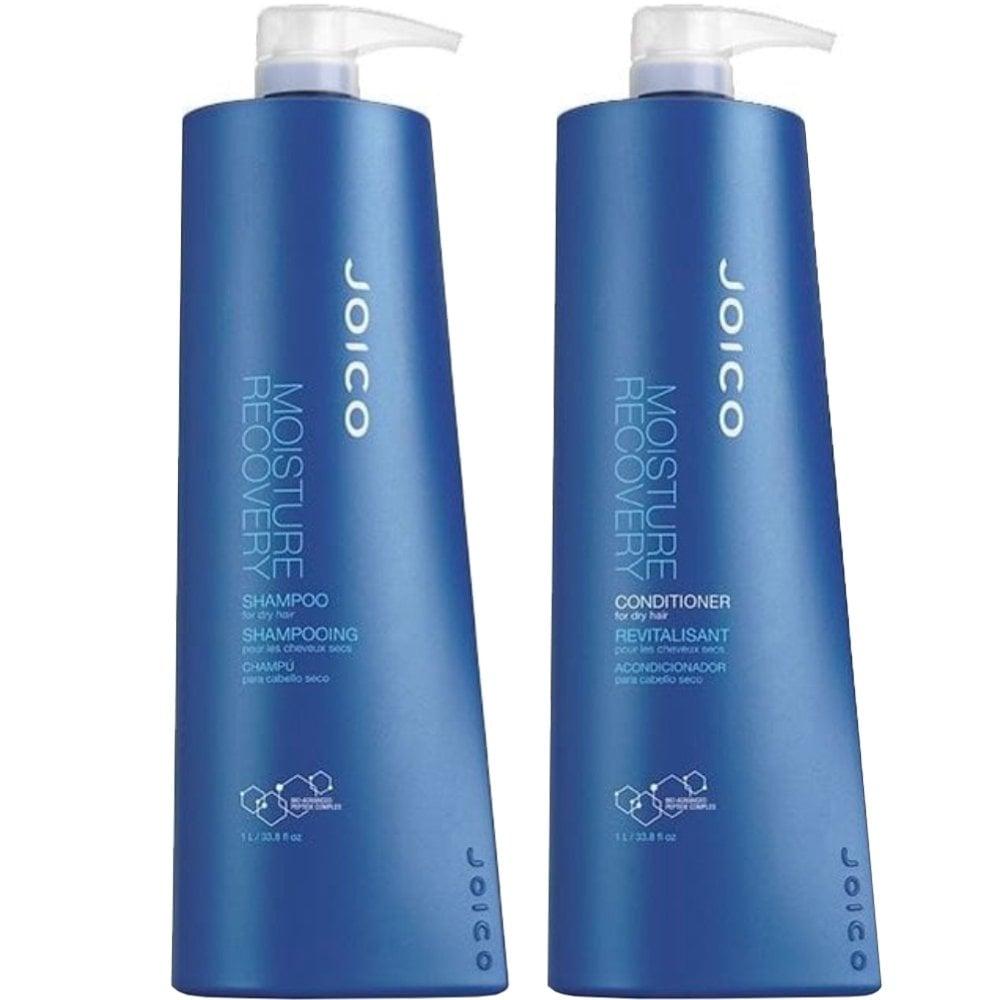 613d10dafda Joico Moisture Recovery Shampoo & Conditioner Twin 2 x 1000ml - Free ...
