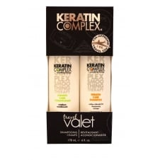 Keratin Care Shampoo & Conditioner Duo Pack 89ml