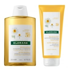 Camomile Shampoo & Conditioner For Blonde Hair 200ml Twin