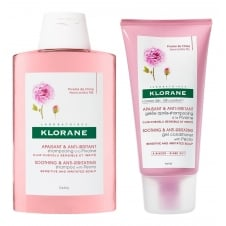 Peony Soothing & Anti-Irritating Shampoo 200ml & Conditioner 150ml Twin