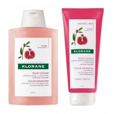 Pomegranate Colour-Enhancing Shampoo & Conditioner 200ml Twin