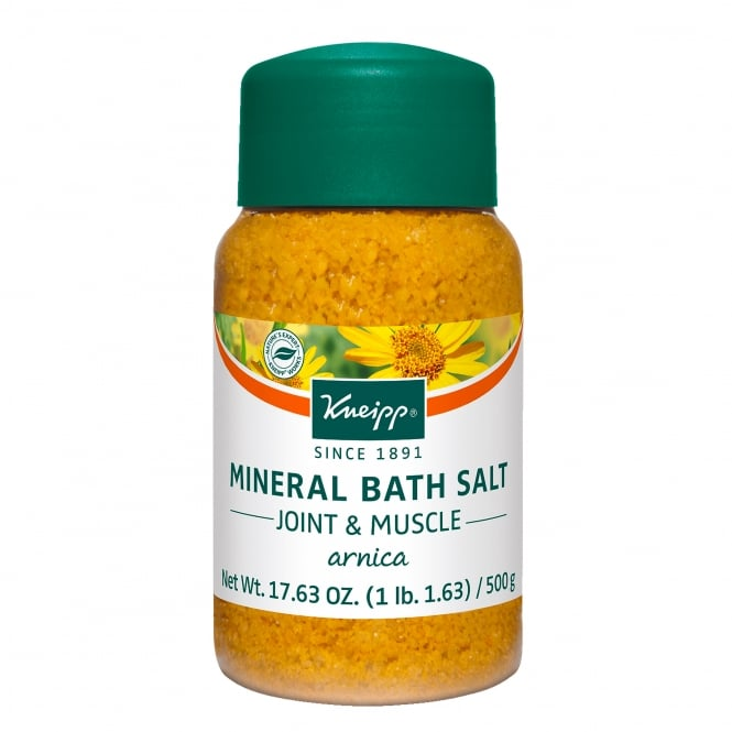 Kneipp Arnica Joint & Muscle Mineral Bath Salts 500g