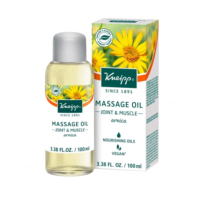 Kneipp Arnica Joint & Muscle Rescue Herbal Bath Oil 100ml
