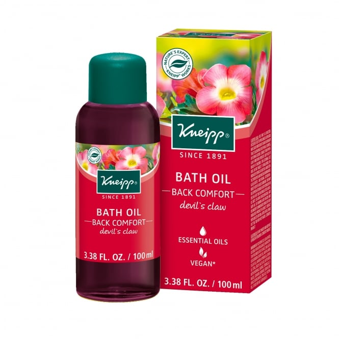 Kneipp Devils Claw Back Comfort Herbal Bath Oil 100ml
