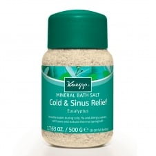 Eucalyptus Cold & Flu Mineral Bath Salts 500g