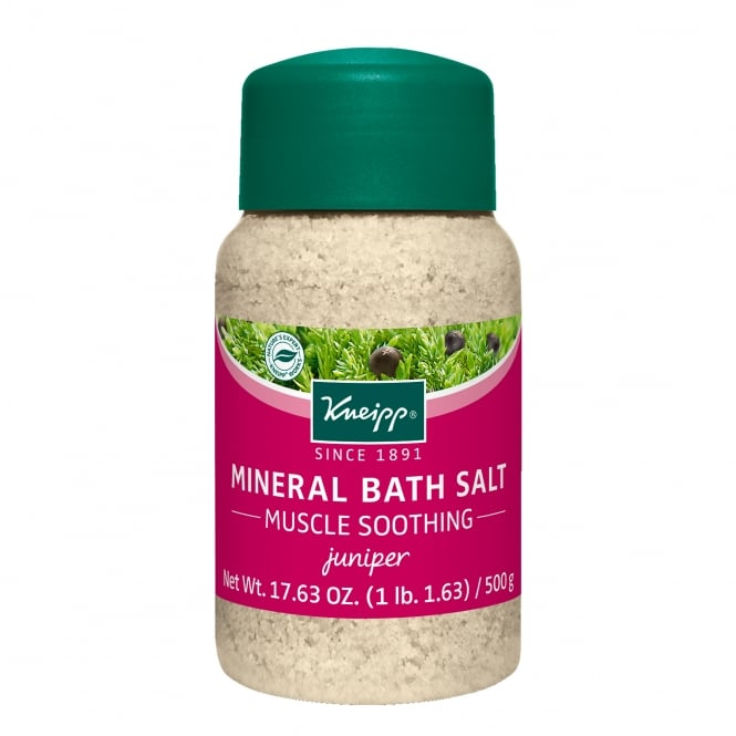 Kneipp Juniper Muscle Soothing Mineral Bath Salts 500g