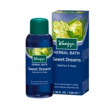 Valerian & Hops Sleep Well Herbal Bath Oil 100ml
