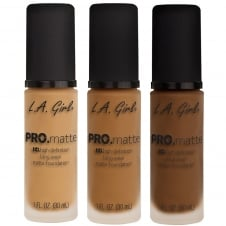 L.A. Girl USA Pro Matte HD Liquid Foundation 30ml