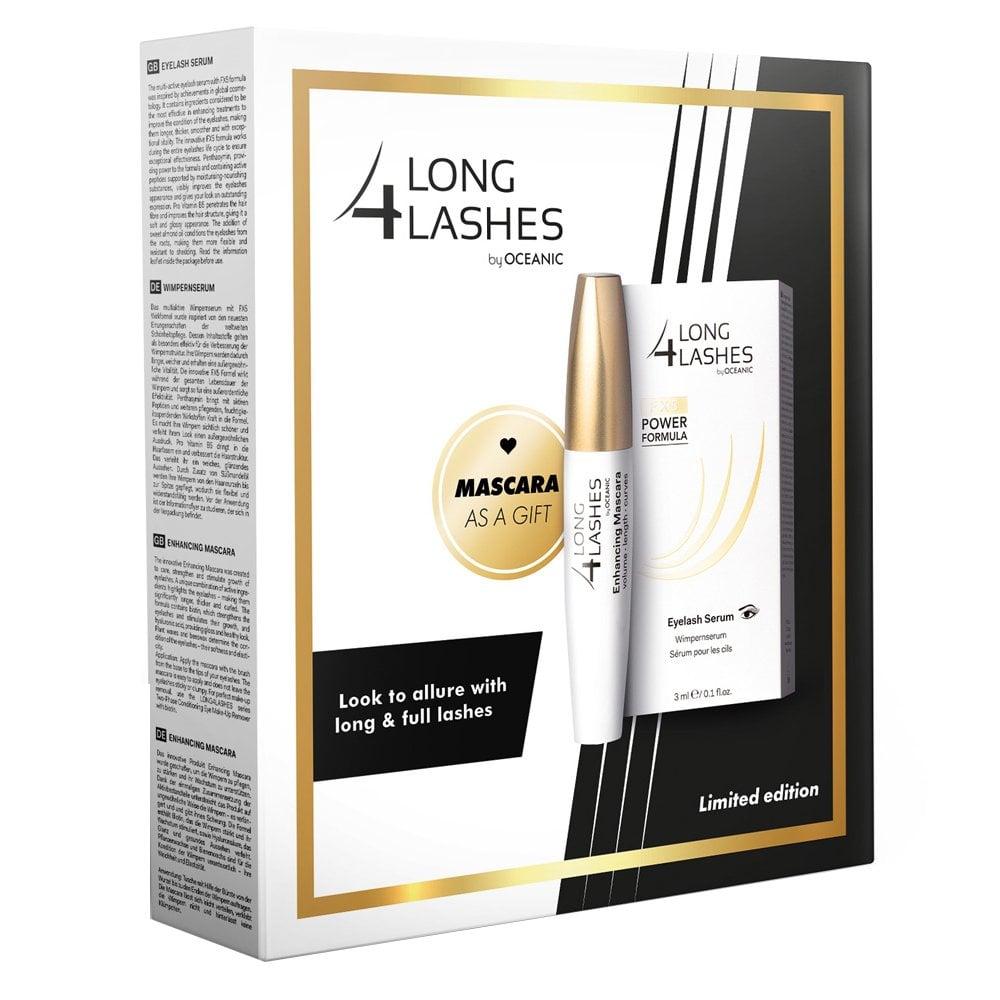 Long 4 Lashes Fx5 Eyelash Serum Enhancing Mascara Gift Set Make