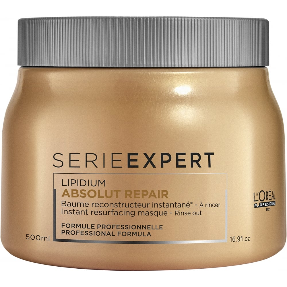 l 39 oreal professionnel serie expert absolut repair masque 500ml free delivery justmylook