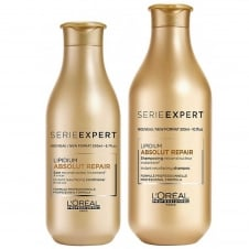 Serie Expert Absolut Repair Lipidium Shampoo 300ml & Conditioner 200ml Twin