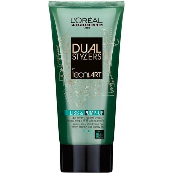 L'Oreal Professionnel Tecni Art Dual Stylers Liss and Pump Up 150ml