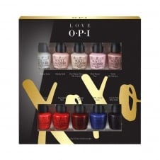 Love OPI XOXO Collection 10 x 3.75ml Mini Pack