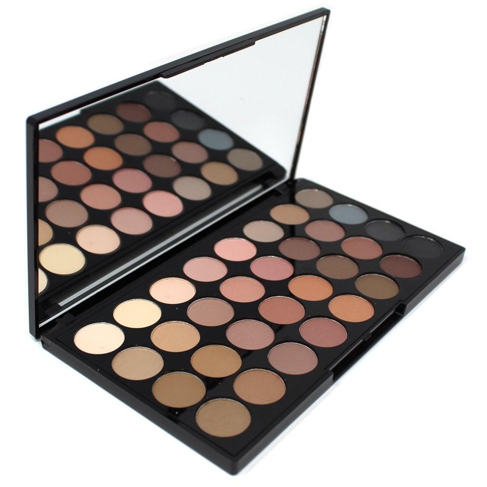 Makeup Revolution Flawless Matte Ultra 32 Colour Eyeshadow ...
