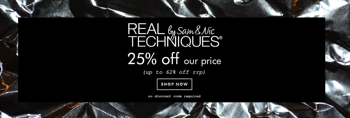 Black Friday - Make Up - Real Techniques