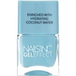 Portobello Terrace Coconut Bright Gel Effect Nail Polish 14ml