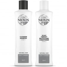 System 1 Shampoo & Conditioner Twin 2 x 300ml