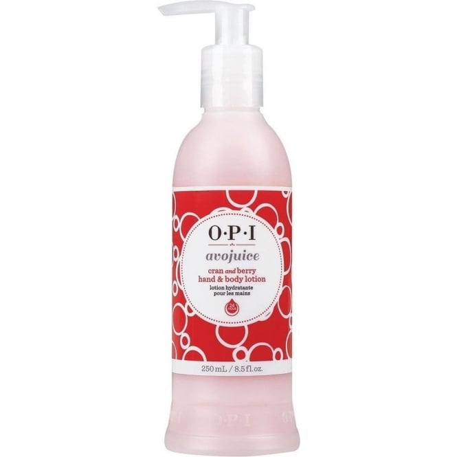 OPI Avojuice Cran & Berry Hand & Body Lotion 250ml