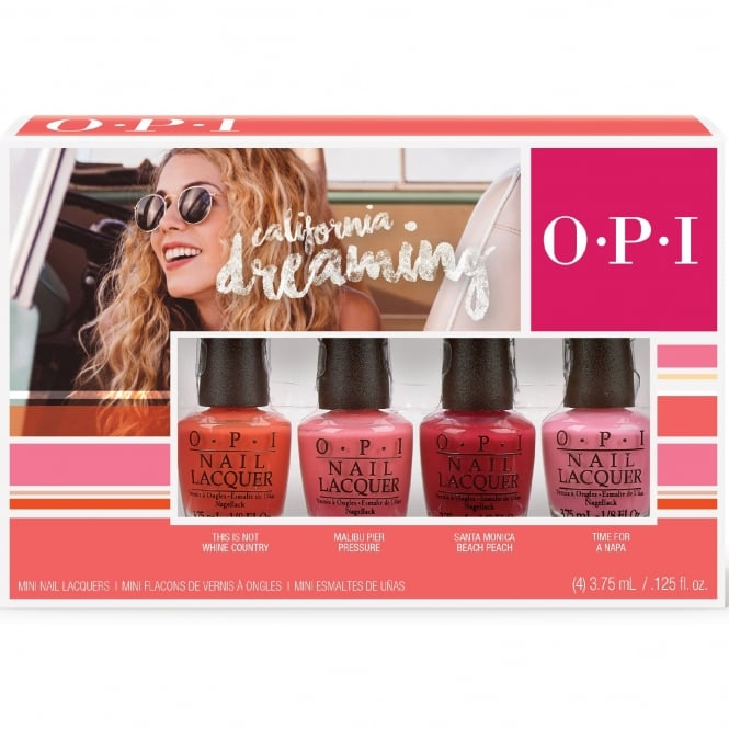 OPI California Dreaming Collection 4 x 3.75ml Mini Pack