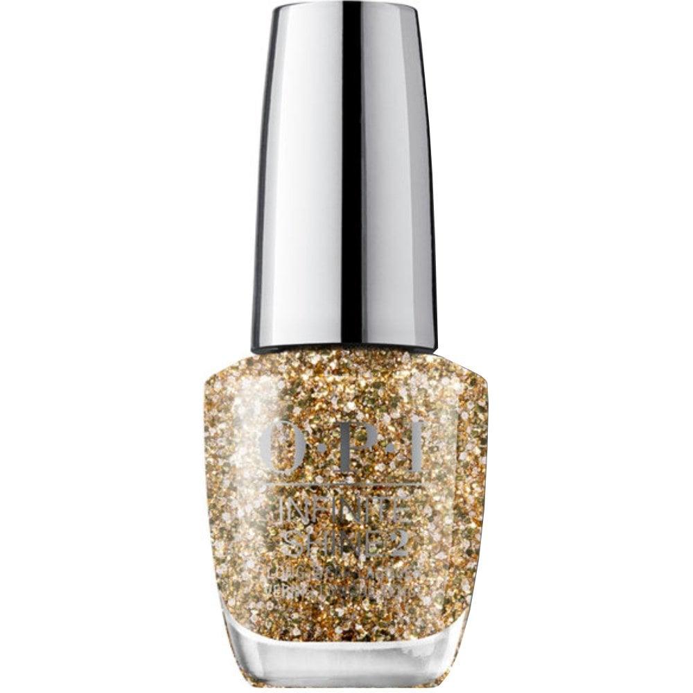 Opi Infinite Shine Gold Key To The Kingdom Nail Polish 15ml