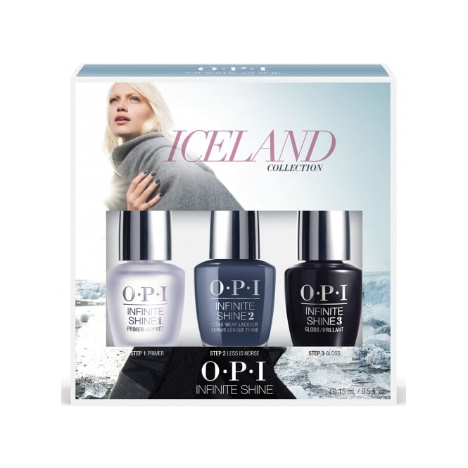 OPI Infinite Shine Iceland Trio Pack Two 3 x 15ml