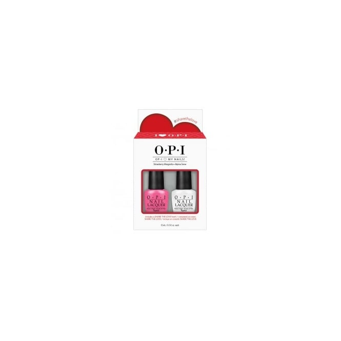 OPI Love My Nails Duo Pack 2 x 15ml