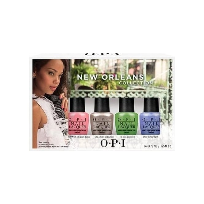OPI New Orleans Jambalayettes Mini Pack 4 x 3.75ml