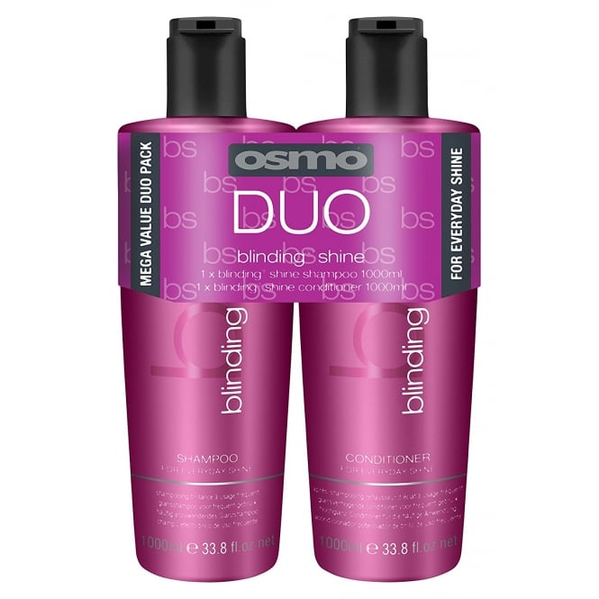 Osmo Blinding Shine Shampoo & Conditioner Twin 2 x 1000ml